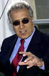 Zalmay Khalilzad.
