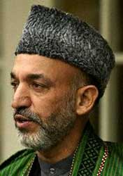 Hamid Karzai.