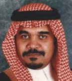 Prince Bandar (pictures of his wife are not available).