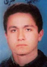 Mohamed Atta, from a January, 1996 Egyptian passport photo.