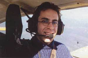 Ziad Jarrah flying in Florida in 2000.