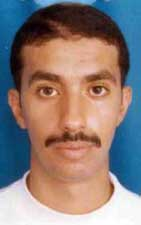 This Ahmed Al-Haznawi picture is a photocopy of his 2001 US visa application.