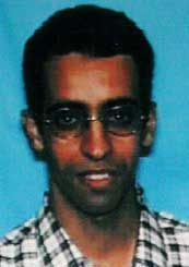 This Amhed Al-Ghamdi photo comes from his Virginia ID card, the only one publicly released by the 9/11 Commission.