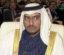 Abdallah bin Khalid al-Thani.