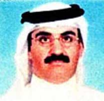 The photograph of Khalid Shaikh Mohammed on his 2001 US visa application.