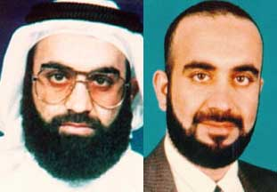 The photo of Mohammed on the right has been flipped to better compare it.