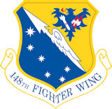 Logo of the 148th Fighter Wing.