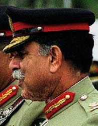 Lieutenant General Mahmood Ahmed.