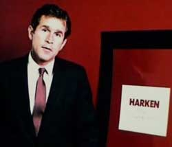 Bush during his Harken days.