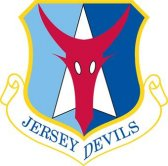 The emblem of the 177th Fighter Wing.