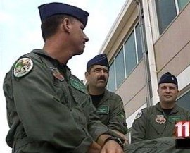 Pilots from the 180th Fighter Wing who are called to service on 9/11.