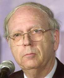 Ephraim Halevy was head of the Israeli Mossad from 1998 to 2002.