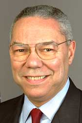 Secretary of State Colin Powell.