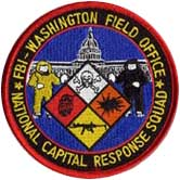 Logo of the FBI's National Capital Response Squad.