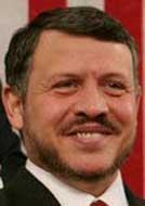 King Abdullah II.