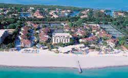 The Colony Beach and Tennis Resort, where Bush stays the night before 9/11. 