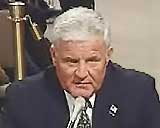 Mike Canavan testifying before the 9/11 Commission.