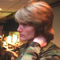 Lt. Col. Dawne Deskins.