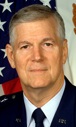 Air Force General Richard Myers, vice chairman of the Joint Chiefs of Staff, and acting chairman on 9/11.