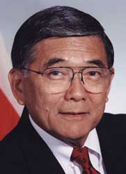 Transportation Secretary Norman Mineta.
