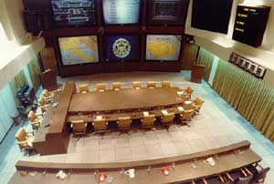 The National Miilitary Command Center, inside the Pentagon.