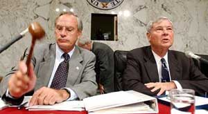 Representative Porter Goss and Senator Bob Graham co-chair the Congressional Inquiry.