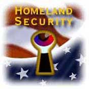 This Homeland Security department logo of an eye peeking
