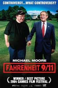 Fahrenheit 9/11 movie poster.