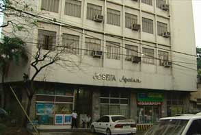 The Josefa apartment, where the fire that foiled the Bojinka plot took place.