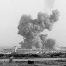 The October 1983 bombing of US Marine barracks in Beirut, Lebanon.