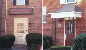 On the left: 5613 Leesburg Pike, address for WAMY&#8217;s US office. On the right: 5913 Leesburg Pike, the 2001 address for hijackers Hani Hanjour and Nawaf Alhazmi.