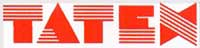 Tatex logo.