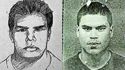 Wanted poster for John Doe #2, left, and Jose Padilla, right.