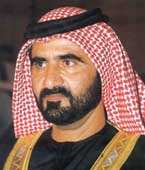 Sheikh Mohammed bin Rashid Al Maktoum.