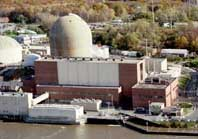 Indian Point nuclear power plant.