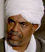 Omar al-Bashir.