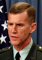 Lt. Gen. Stanley A. McChrystal.