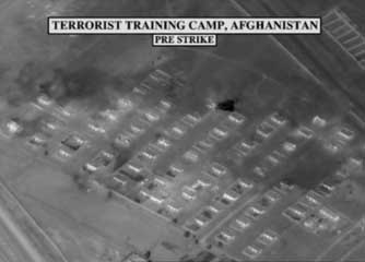 Imagery of bin Laden's Tarnak Farms compound prepared for the aborted operation.