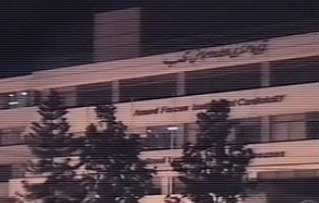 CBS News footage of the Rawalpindi, Pakistan, hospital where bin Laden was allegedly treated the day before 9/11.