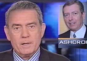 Dan Rather in July 2001 presenting the story about John Ashcroft.