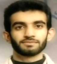 Ramzi Yousef&#8217;s passport photo.