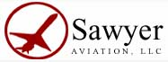 Sawyer Aviation logo.