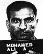 Ali Mohamed's booking photo.