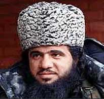 Chechen rebel leader Ibn Khattab