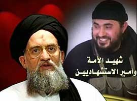 Al-Qaeda deputy leader Ayman al-Zawahiri also mentioned the death of Abu Musab al-Zarqawi in a video.