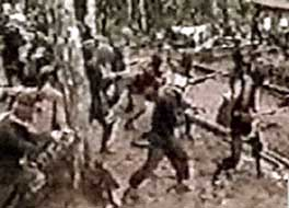 Video footage of al alleged al-Qaeda training camp in Sulawesi, Indonesia.