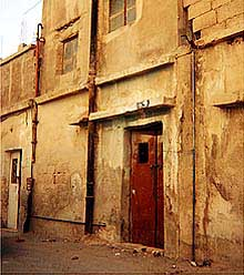 On December 5, 1999, a Jordanian raid discovers 71 vats of bomb making chemicals in this residence.