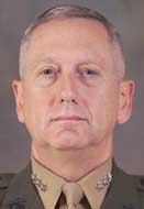 Brig. Gen. James N. Mattis.