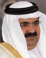 Sheikh Hamad bin Khalifa al-Thani.