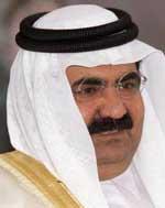 Sheikh Hamad bin Khalifa al-Thani.